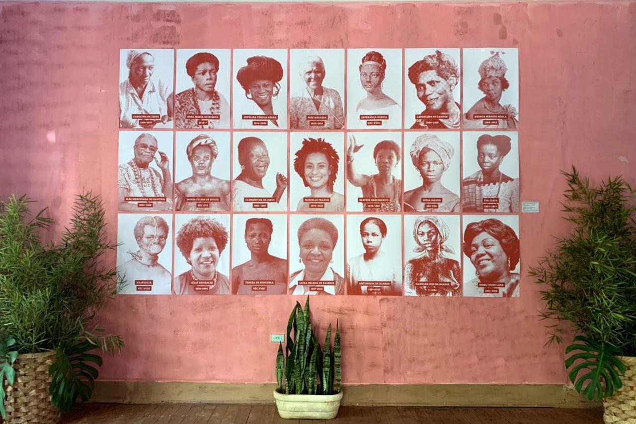 O Mural das Heroínas é inaugurado na Fazenda Roseira