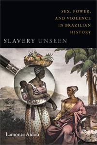 Obra da série Modos de Olhar na capa de livro de Lamonte Aidoo, Duke University Press