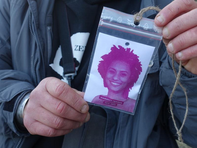 Projeto Mãe Preta faz intervenção no Parc Marielle-Franco em Paris